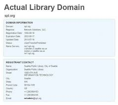 Of County Side Library West State Email Posing As Spokane On Scam BvwWTA0q