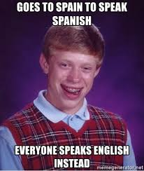Image result for everyone speaks spanish