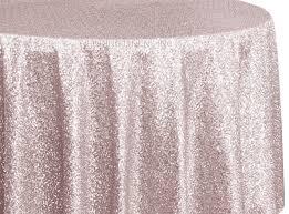 120 round sequin taffeta tablecloths blush pink 01315 1pc pk
