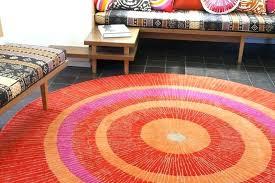 red circle rug circles a circular area rugs