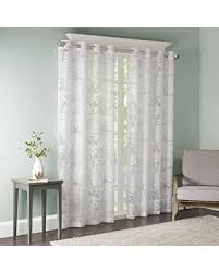 Find the Best Deals on Madison Park Sheer Curtains for Bedroom ...