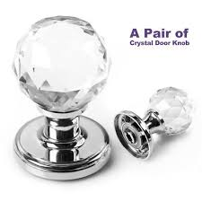 glass door knobs on doors. A Pair Of Clear Extra Large Crystal Glass Door Knob/ Handle For Doors UK Knobs On