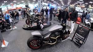 new york international motorcycle show full floor walk through
