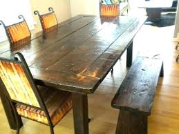 full size of rustic wood dining table set sets reclaimed and bench trestle kitchen awesome round