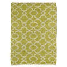 kenwood lime green 8 ft x 9 ft double sided area rug