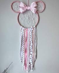 Minnie Mouse Dream Catcher Gorgeous Minnie Mouse Dreamcatcher Amazonca Handmade