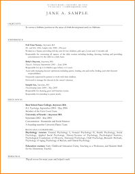 Child Care Provider Resume Babysitter Resume Is One Of The Best Idea For You To Make Good 57