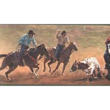 ws6146b cowboys roping border