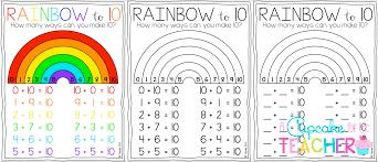 Making 10 Anchor Chart May