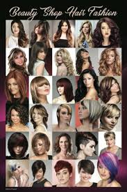 Barber Hairstyles Chart 24 X 36 Barber Shop Poster Modern Hair Styles For Women Youth And Kids Hispanic