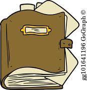 cartoon book cartoon old book