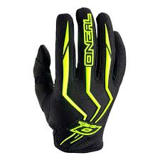 Oneal Mx Glove Size Chart Oneal Water Shoes Oneal Element Gloves Offroad Black Yellow