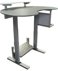 office desk standing. computer table office depot standing desk