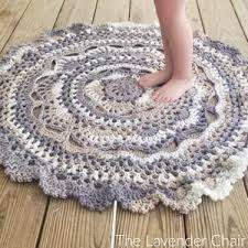 Free Crochet Rug Patterns Interesting 48 Creative Crochet Rug Patterns AllFreeCrochet