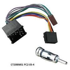 ct20bm02 car stereo radio wiring harness adaptor for bmw e46 e39 e85 bmw 5 series e34 e39 1988 2000 iso lead car stereo radio harness aerial