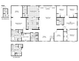 the evolution vr41764c manufactured home floor plan or