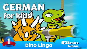 german for kids dvd set children learning german deutsch für kinder germany dino lingo