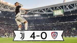 JUVE CAGLIARI 4-0: TRIS RONALDO + HIGUAIN GOL... REAZIONE LIVE!
