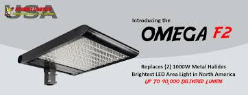 replace 1000w metal halide brightest led parking lot fixture in the usa