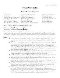 Executive Resume Amazing Human Resources Recruiter Resume Template Hr Example Executive R