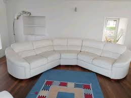 white leather 3 three piece suite good