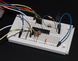 Computer controlled IR <b>remote control</b> for an <b>RGB LED</b> strip