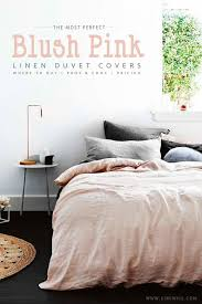 in search of the perfect blush pink bedding set