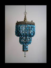 custom reserved dear genevieve 3 tier turquoise chandelier