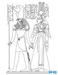 Small Picture Horus and nefertiti deities coloring pages Hellokidscom