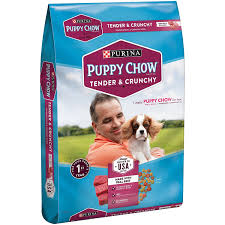 Puppy Chow Purina Tender And Crunchy Puppy Food