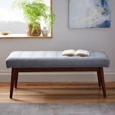 West elm style furniture Mid Century Midcentury Style Bench From West Elm Popsugar Furniture Midcentury Style Bench From West Elm 15 Ikea
