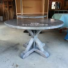 Zinc Dining Table French Restoration Hardware Dining Table Barrioantiguoimportss Blog