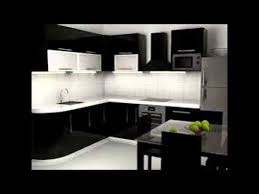 Black And White Kitchen Cabinets Pictures Gallery