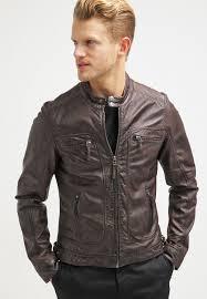 casey leather jacket dark brown
