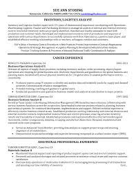 Logistics Manager Resume Sample For Study Military Examples What