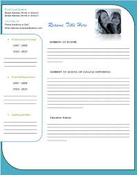 Free Resume Templates For Word 2007 Delectable Free Download Resume Templates For Microsoft Word 28 Colbroco