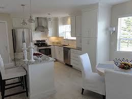 melbourne florida kitchen renovation features cliqstudios rockford painted white cabinets