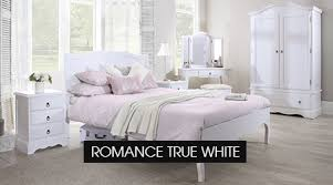 White Chic Bedroom Furniture Romance True White Bedroom Furniture Chic B