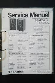 technics sb f original speaker service manual service manual technics sb f66 original speaker service manual service manual wiring diagram