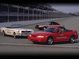 Ford Mustang Photo Gallery: 1994 Cobra Indy500 Pace Car (with 1965 ...