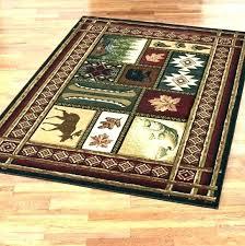 lodge area rugs cabin style rug designs ski free