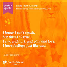 poems about magnificent wild s