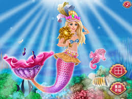 mermaid barbie dress up carnival dress up barbie doll beauty games free kids games screenshot