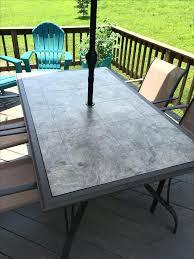 diy gl patio table top replacement design ideas