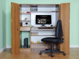 hideaway home office. A Home-office Hideaway Computer Desk Home Office L