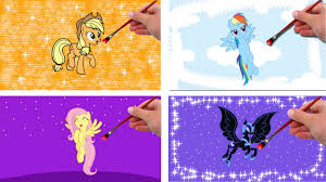 Small Picture My Little Pony character Coloring Pages Coloring Pages Game YouTube