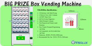 Smart Vending Machine Malaysia Beauteous VISOLUX M SDN BHD 48W VENDING SOLUTION