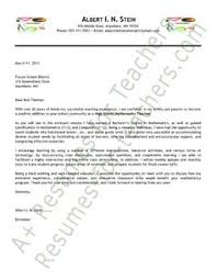 Cover Letter For Teaching Assistant 13 Best Teacher Cover Letters Images Cover Letter For Resume