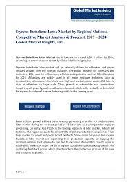 Pdf For Styrene Butadiene Latex Market 2017 Edocr
