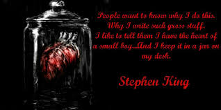 Stephen King Quotes On Love Fascinating I Love That Little Boy Heart On His Desk My Religion Stephen King
